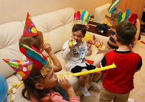 конкурсы для детей на день рождения дома