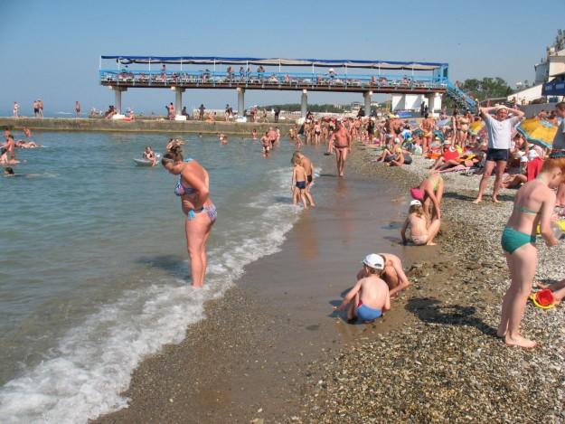 Пляжи в Дивноморске