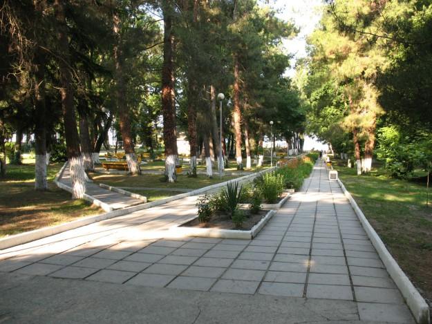Парк пансионата