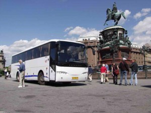 Автобусный тур с ребёнком