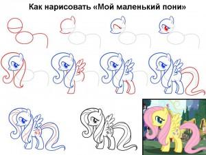 Как нарисовать «Мой маленький пони»