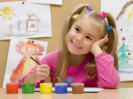 Как научить ребенка рисовать.