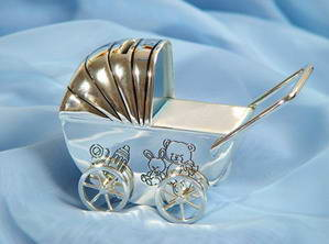 Серебряный сувенир для мамы или папы