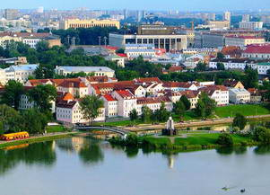 Столица Белоруссии - Минск