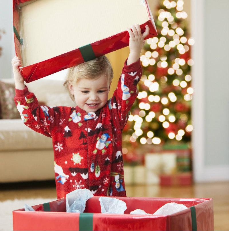 детские подарки детям на новый год