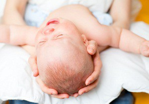 родничок у новорожденных фото