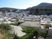 Вид Линдоса  с Акрополя