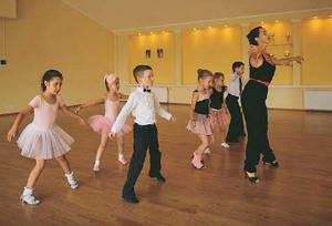 Спортивные танцы для детей