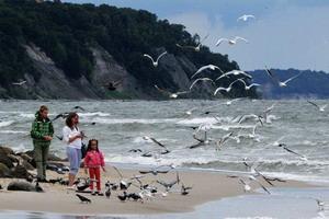 Отдых с детьми на Балтийском море