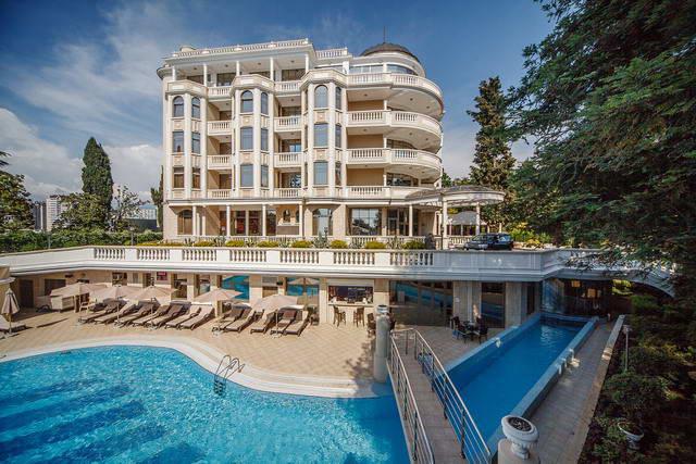 Отели Сочи «всё включено» с бассейном и пляжем. Острова