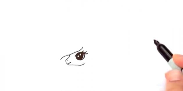 как нарисовать красивого единорога