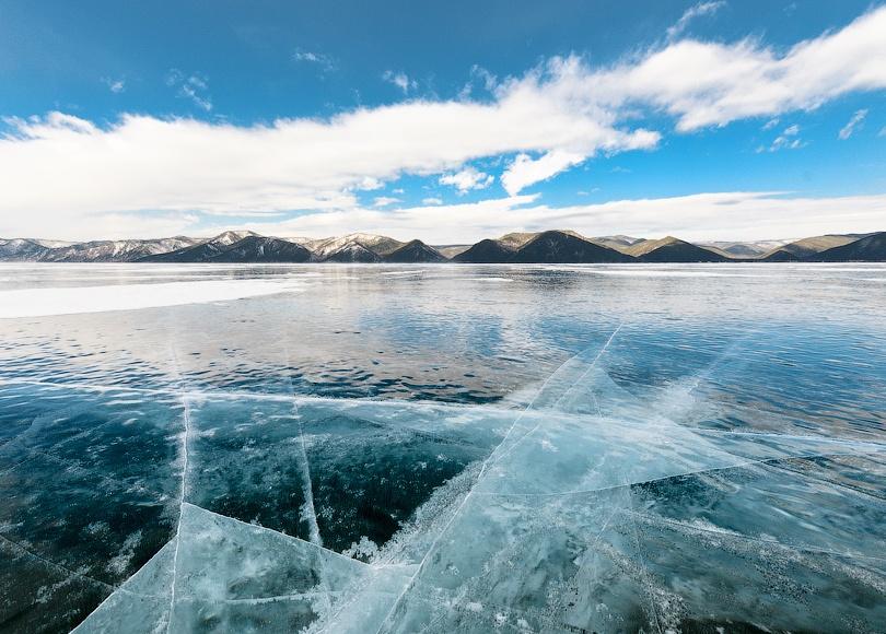 Байкал зима