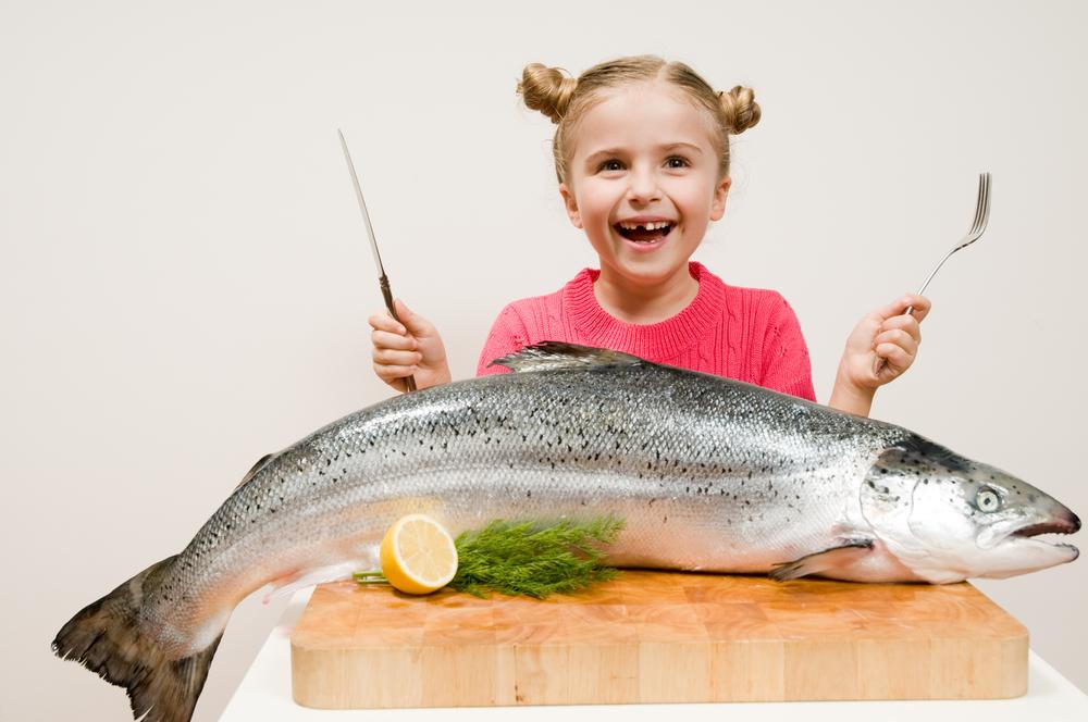 Рыбные продукты в питании ребенка