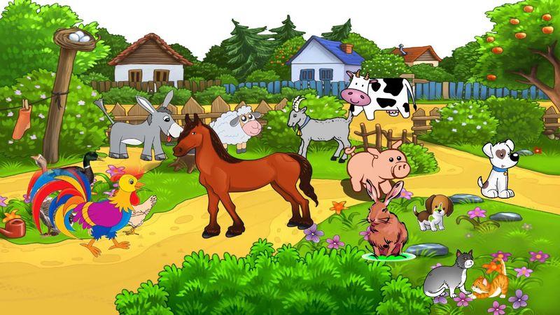 Картинки с домашними животными