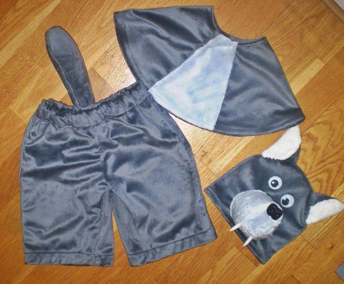 волк костюм для мальчика